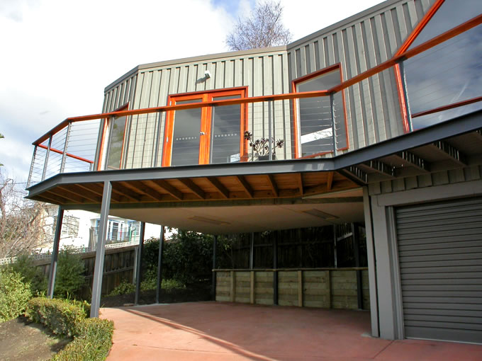 Home Extension On Stilts With Car Spaces Below