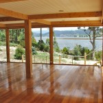 Polished timber floors throughout
