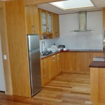 Timber fitted kitchen units