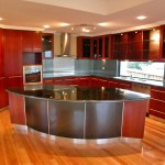 Contemporary kitchen design featuring Jarrah and granite benchtops