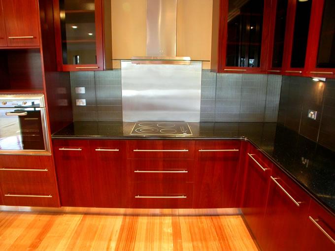Jarrah Timber Kitchen Units Granite Benchtops Kitchen