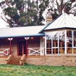 Arward winning mudbrick home