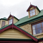 Roof line details and traditional-style trims