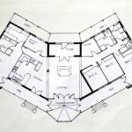 Floor plan for award-winning home